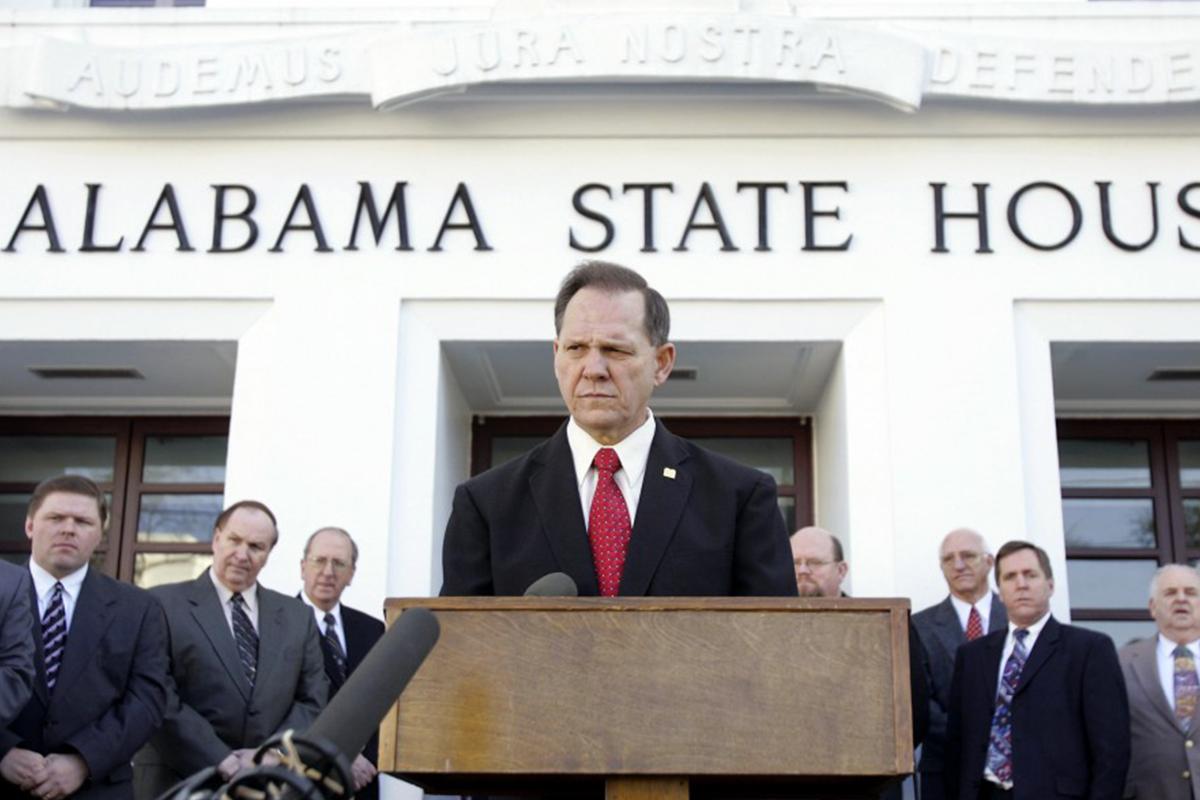 Roy Moore - président de la Cour suprême d'Alabama
