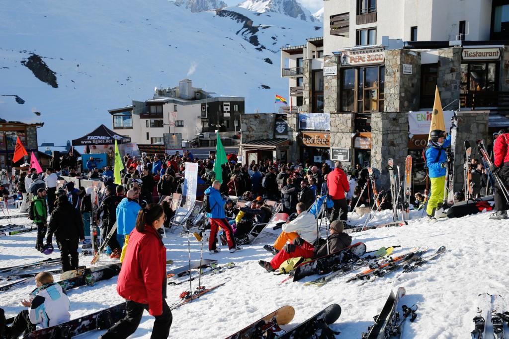 L'European Snow Pride à Tignes