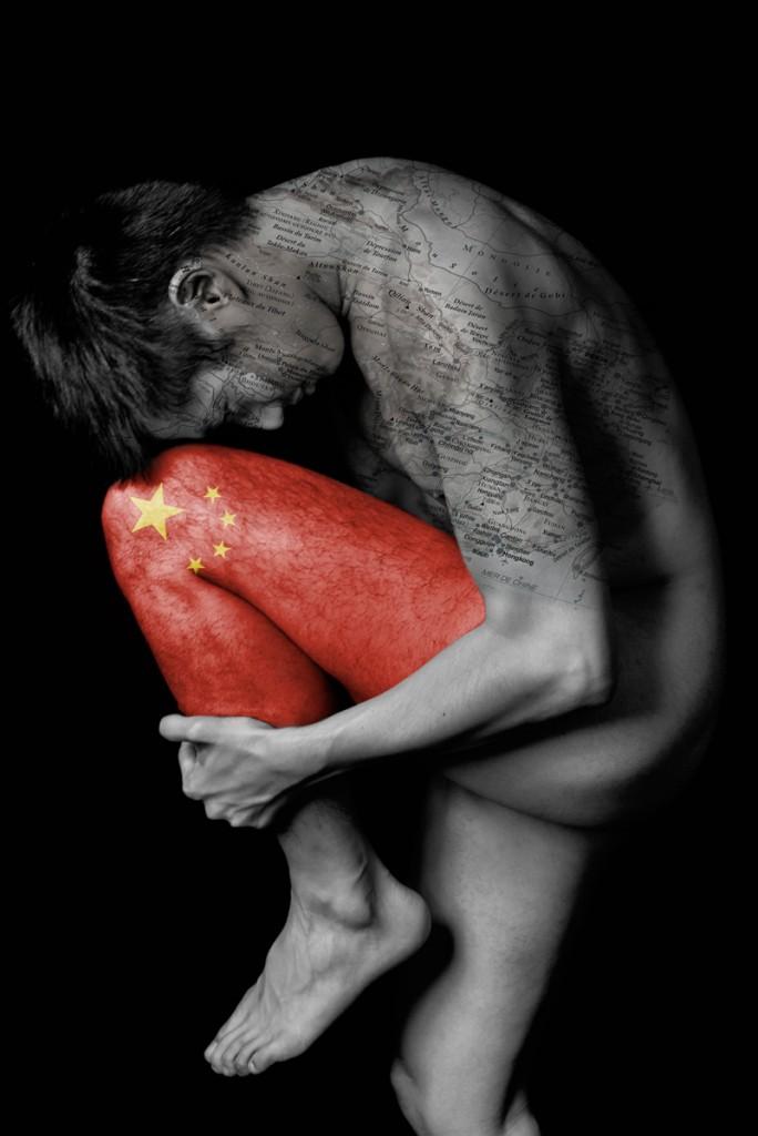 """Série Cartes du corps « Chine"""" Modèle Jonathan"""