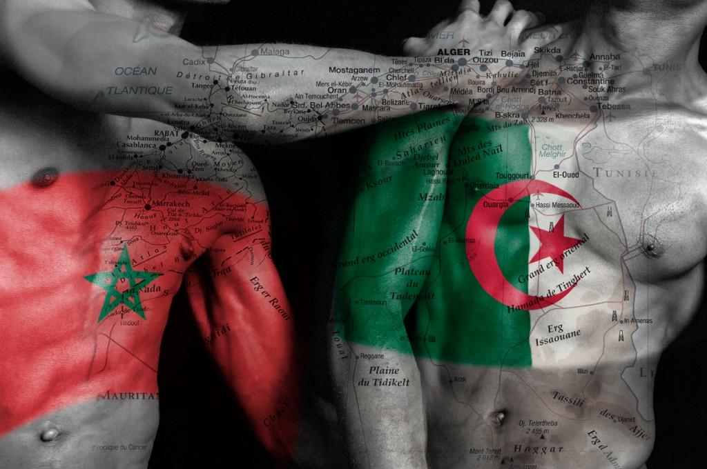 """Série Cartes du corps « Algérie & Maroc"""" Modèles Carl & Emanuel"""