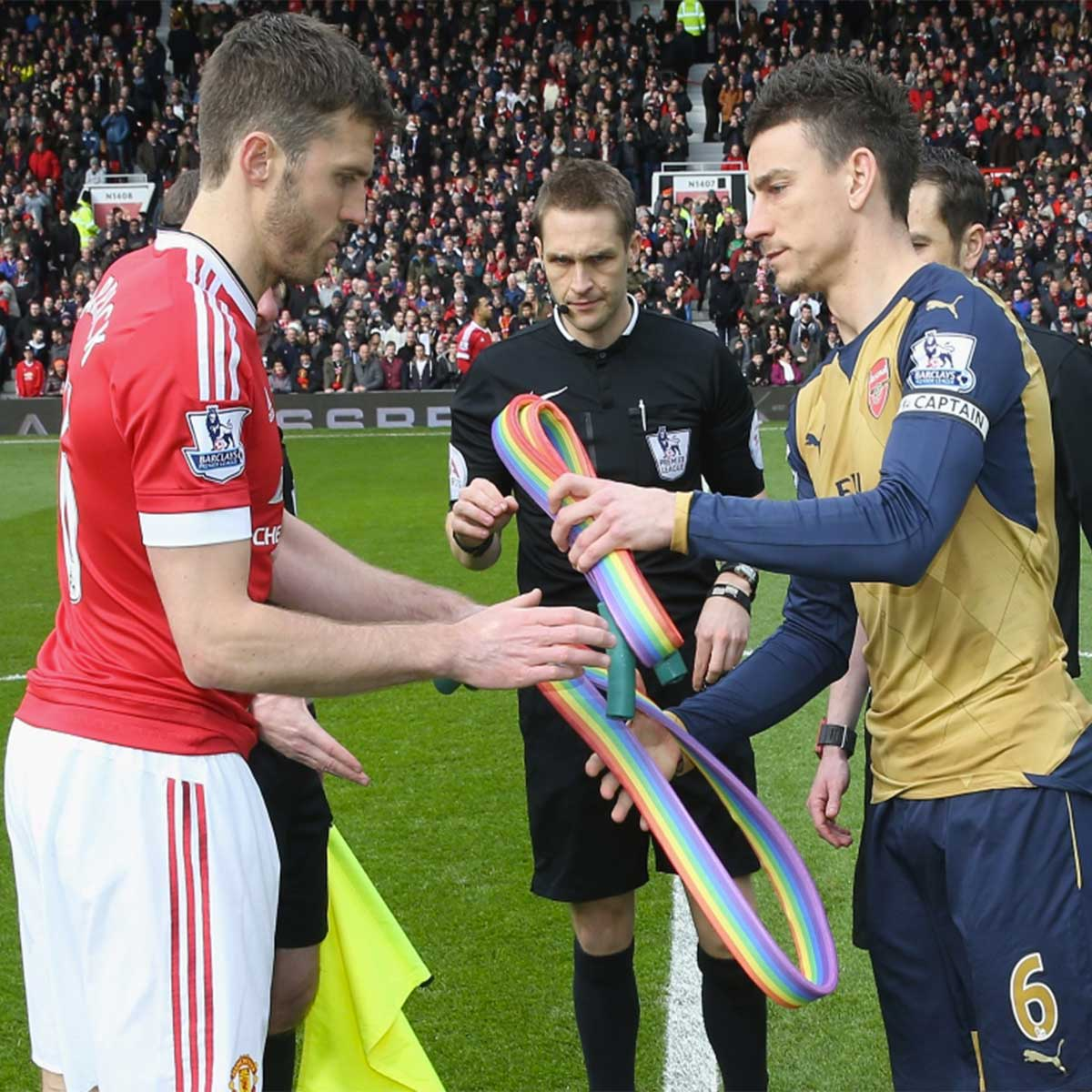 Manchester United Arsenal Stonewall Rainbow Laces