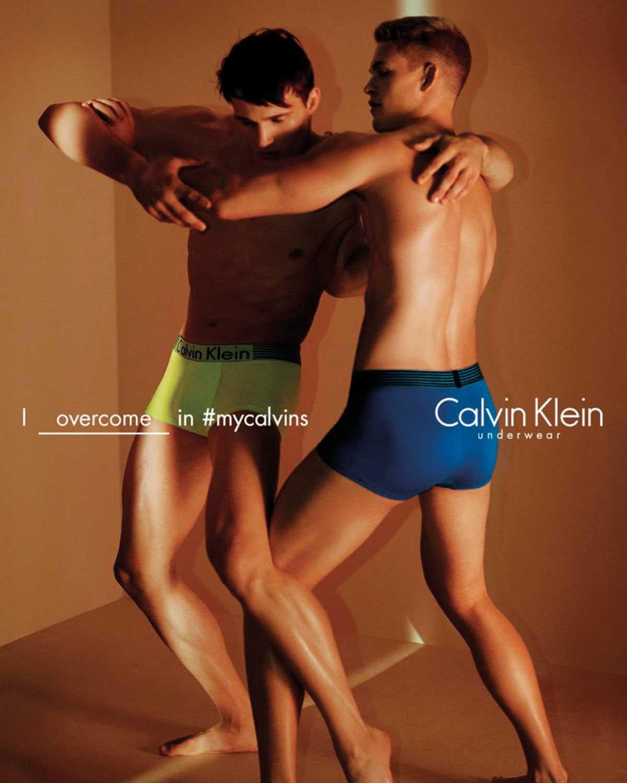 David Sims pour Clavin Klein
