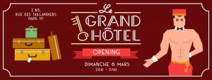 agenda clubbing tetu grand hotel