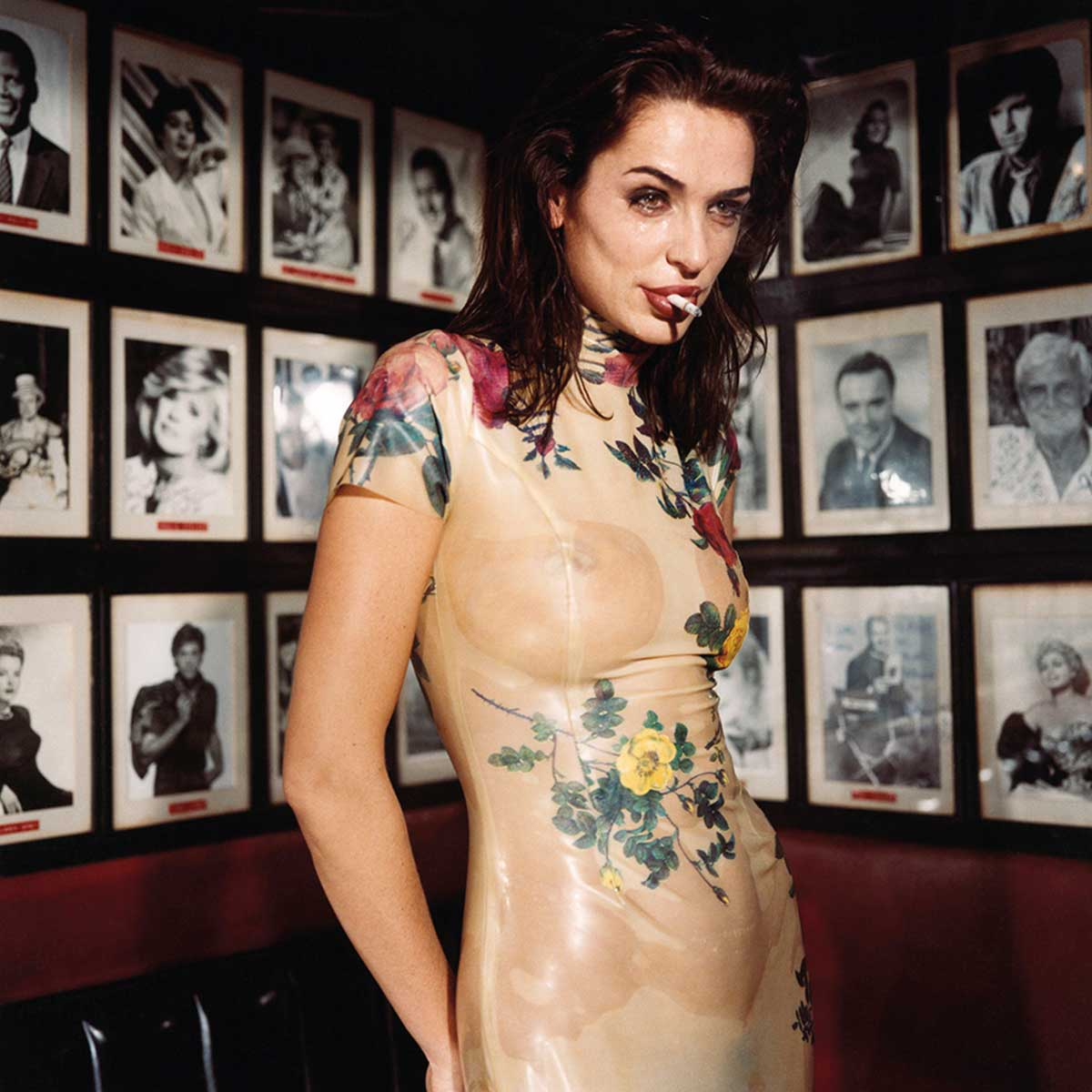 Claire Stansfield crying in the Formosa Café, February 1994, Los Angeles © Bettina Rheims