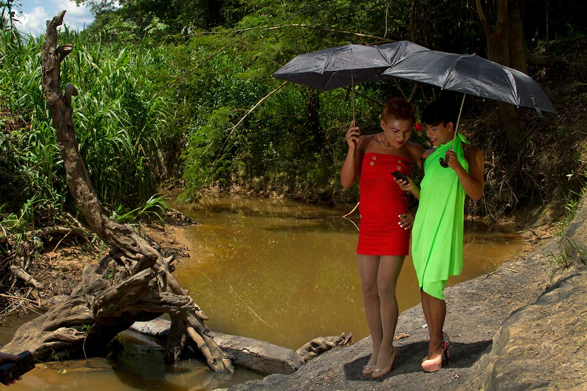 Les Ticunas (Amazonie). Photo : Nelson Morales