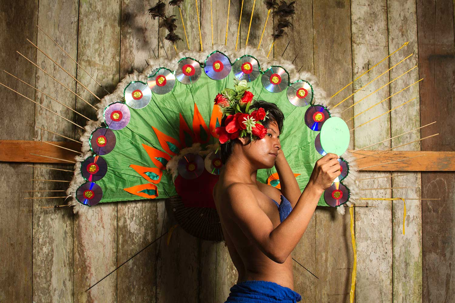 Les Ticunas (Amazonie). Photo: Nelson Morales