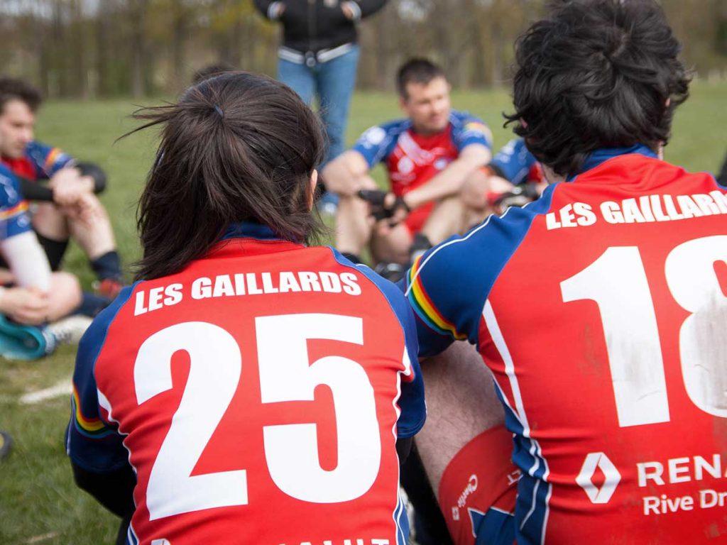 Les Gaillards Paris Rugby Cup club de rugby gay-friendly