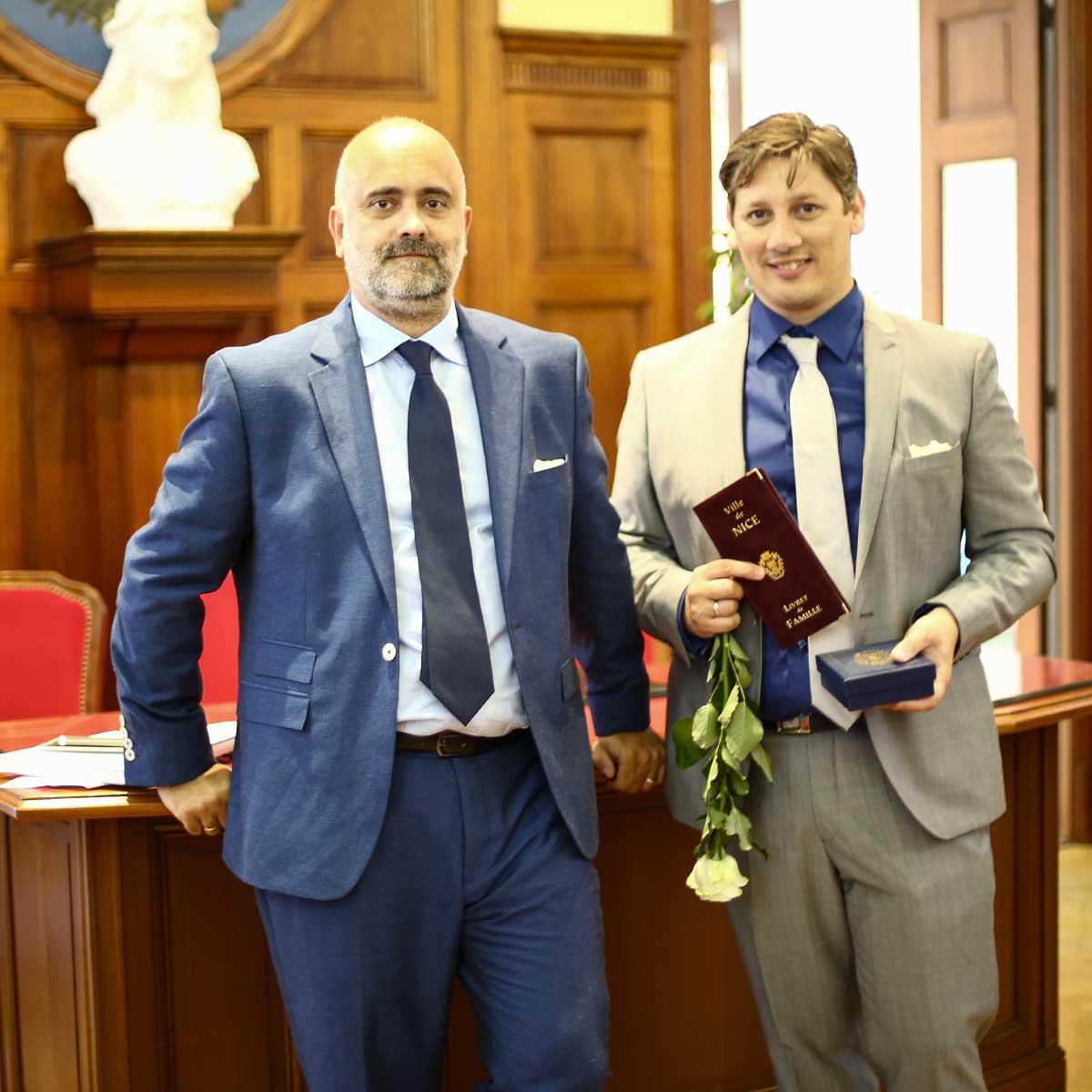 Tony et Nico couple gay 4 mariage pour 1 lune de miel