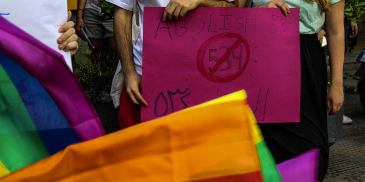 Liban manifestation decriminalisation