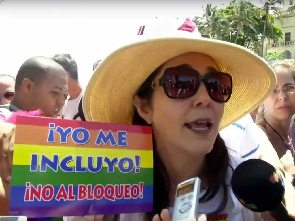 Gay Pride historique Cuba Mariela Castro