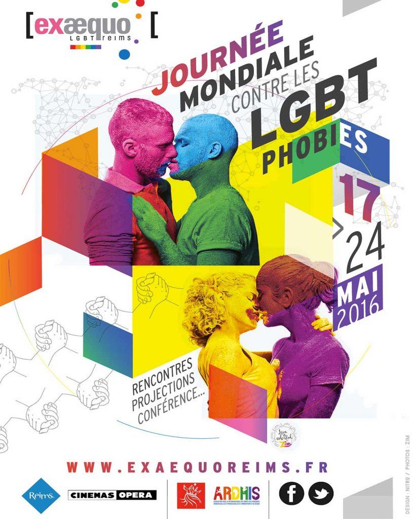 Reims Exaequo IDAHOT lutte contre l'homophobie et la transphobie