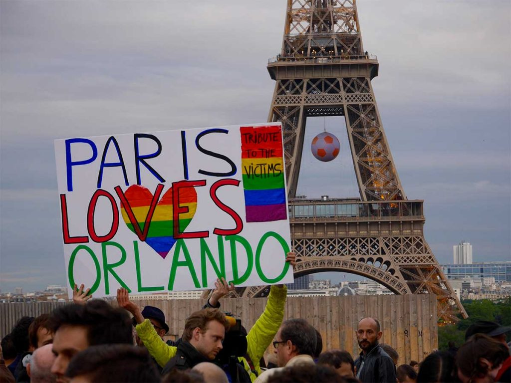 tuerie d'Orlando rassemblements hommage aux victimes