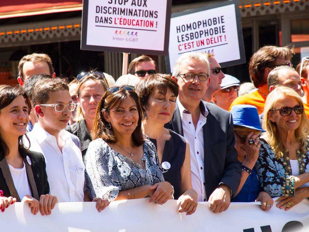 Marches des fiertés de Paris Amandine Miguel Inter-LGBT