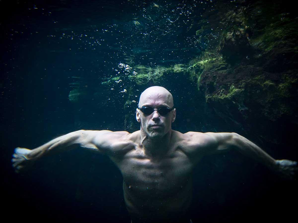normand piche 5 continents à la nage