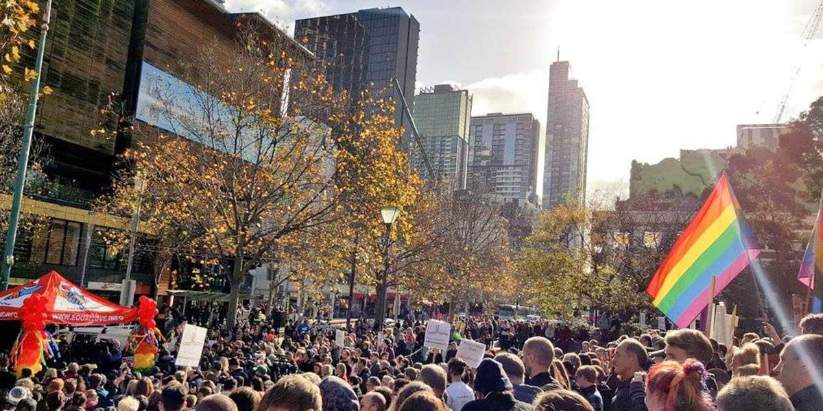 milliers d'Australiens mariage pour tous élections législatives