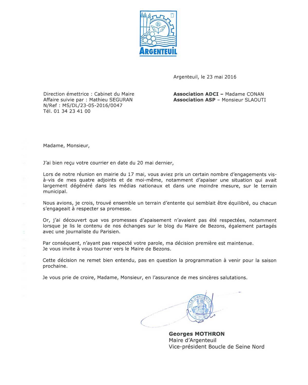 Argenteuil 3000 Nuits censure La Sociologue et l'Ourson
