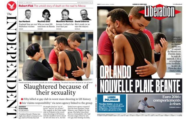attentat d'Orlando caractère homophobe