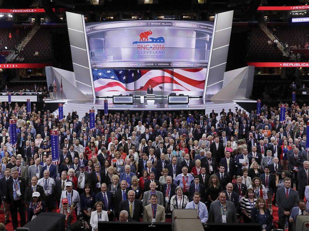convention LGBT républicains Donald Trump