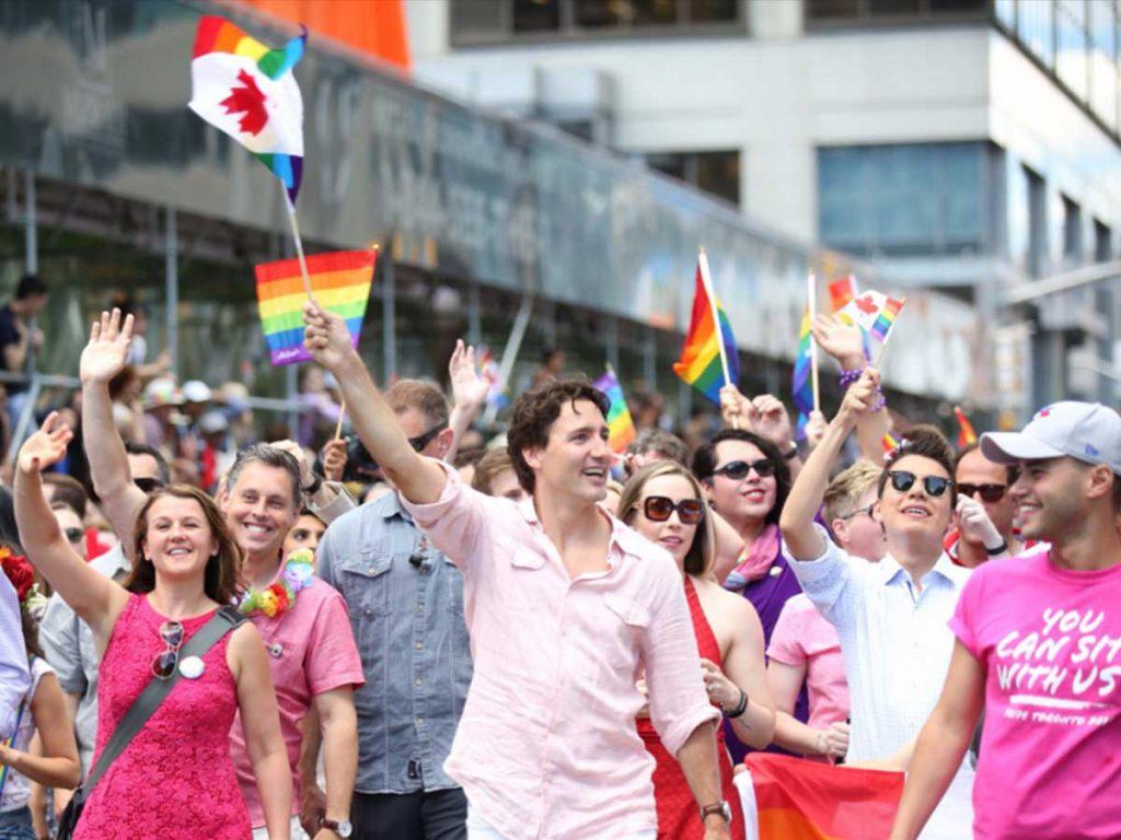 Justin Trudeau Marche des fiertés LGBT de Toronto