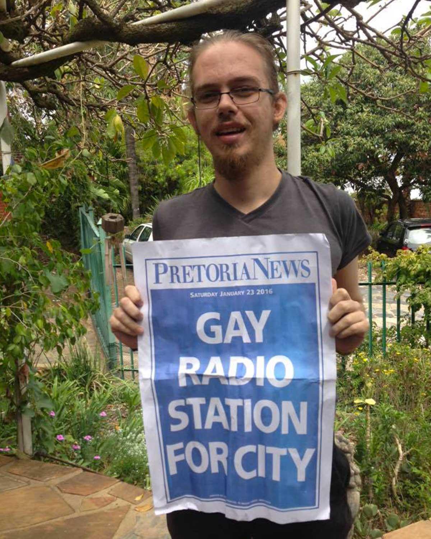 GaySA Radio première web radio LGBTI d'Afrique
