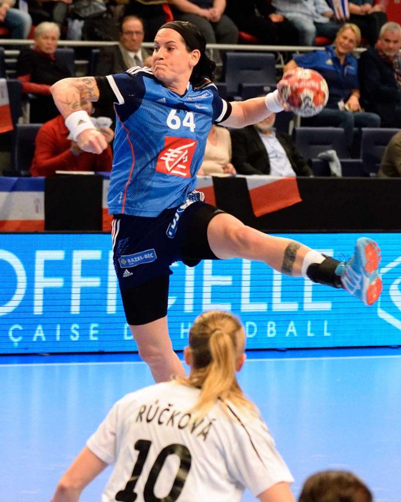 Alexandra Lacrabère Rio 2016 JO handball finale