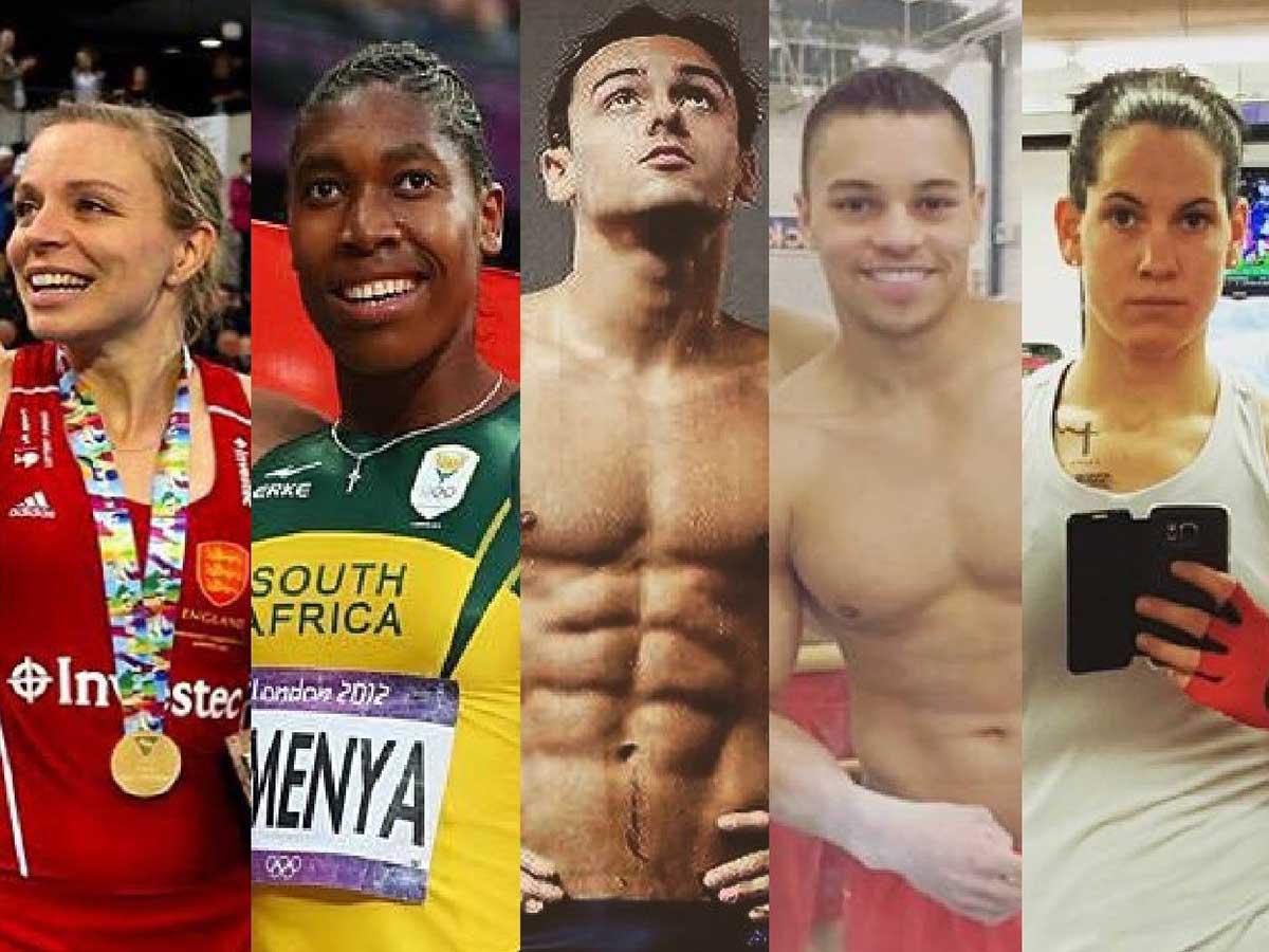 Rio 2016 : 5 athlètes hors du placard et hors du commun