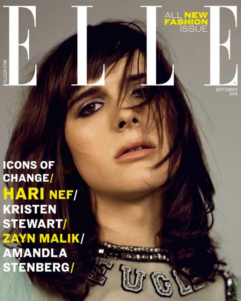 Elle UK couverture Hari Nef trans