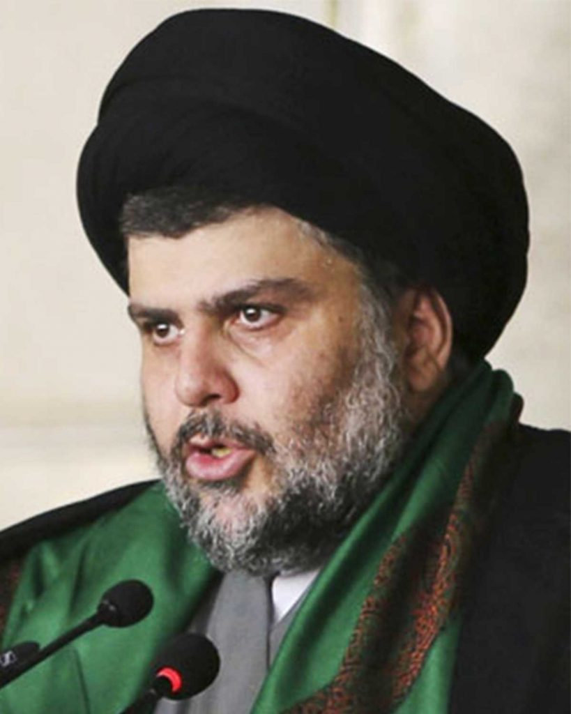 moqtada al-Sadr leader chiite personnes LGBT