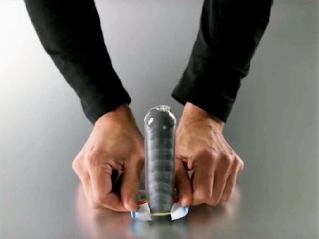 nouveau préservatif application en 3 secondes