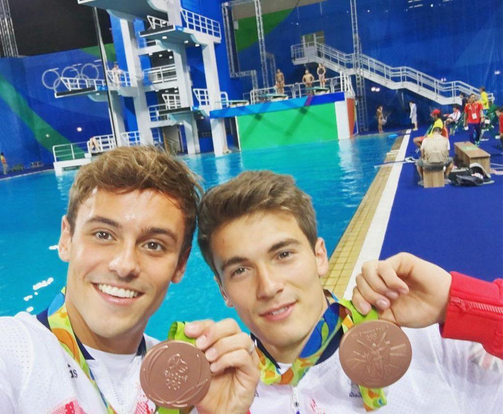 Tom Daley Rio 2016 médaille