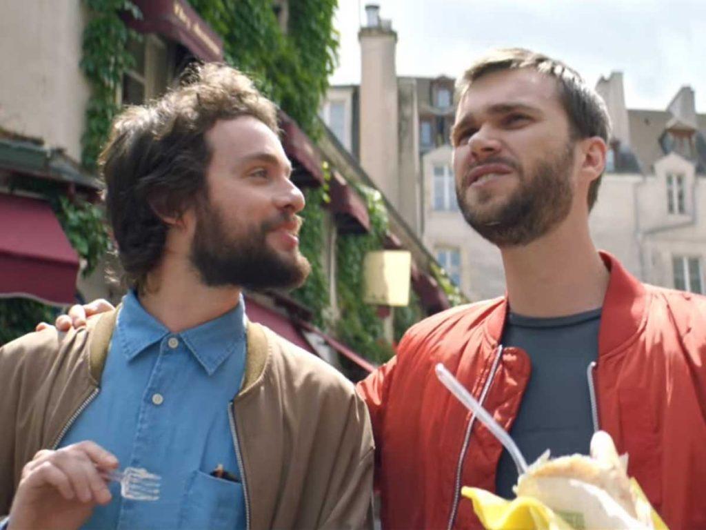 Paris je t'aime couple gay