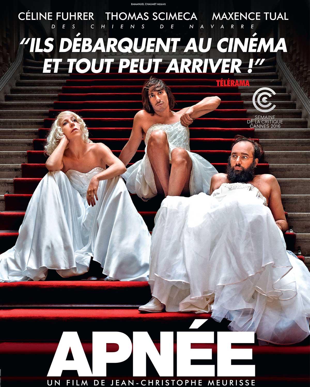 """Les Chiens de Navarre se marient à trois dans """"Apnée"""", film enragé"""