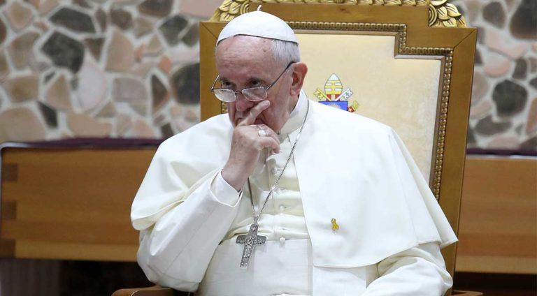 pape françois théorie du genre