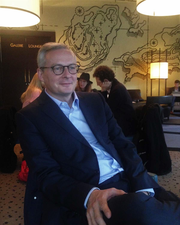 Bruno Le Maire, lundi 7 novembre 2016. Photo : Adrien Naselli