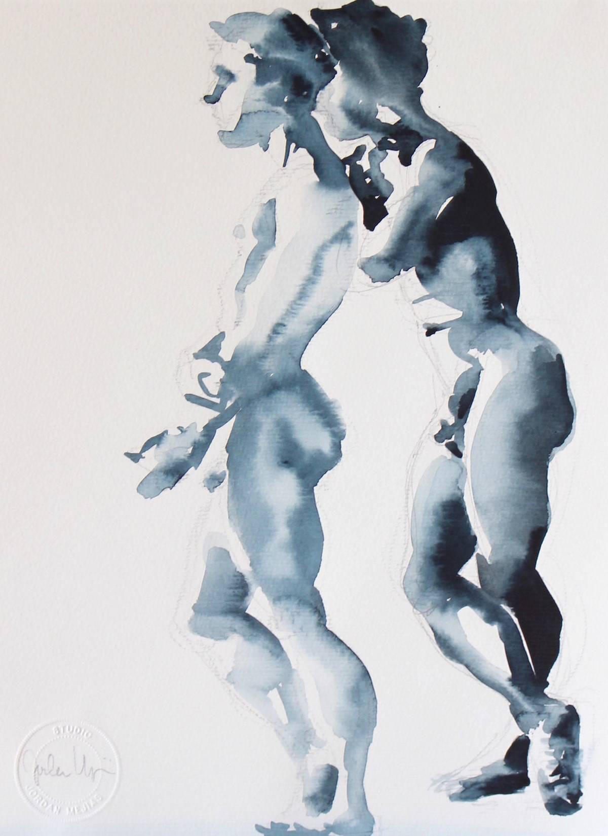 Jordan Mejias aquarelle
