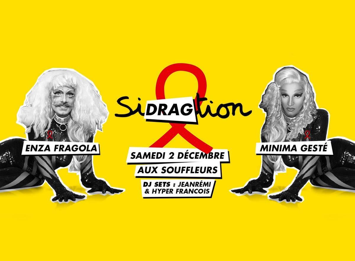 Sidragction : quand les drag-queens arpentent le pavé contre le sida