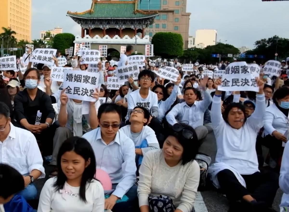 Taiwan mariage pour tous