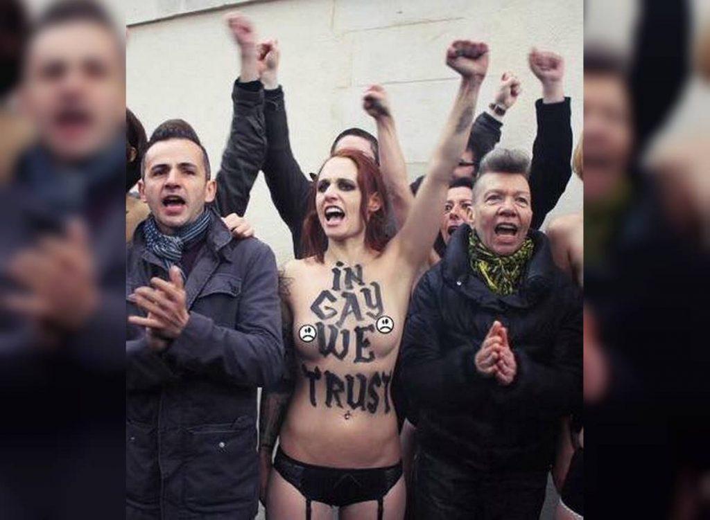 Femen In Gay We Trust