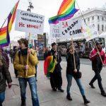 Russie manifestation LGBT