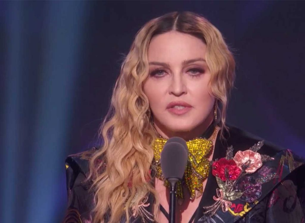 Madonna femme de l'année Billboard Women in Music viol sexisme