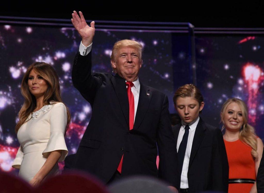Donald Trump site de la Maison Blanche