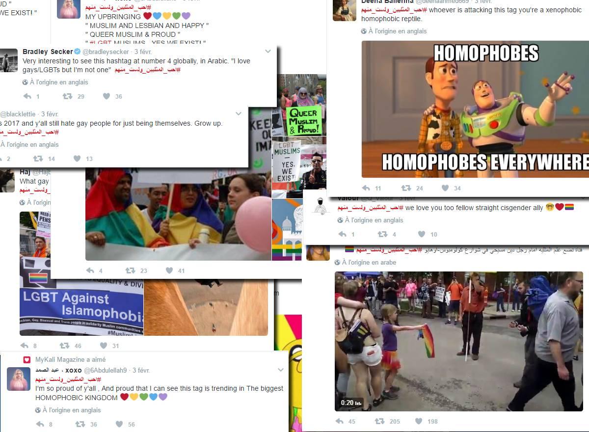 #احب_المثليين_ولست_منهم Arabie Saoudite slogan gay-friendly hashtags Twitter