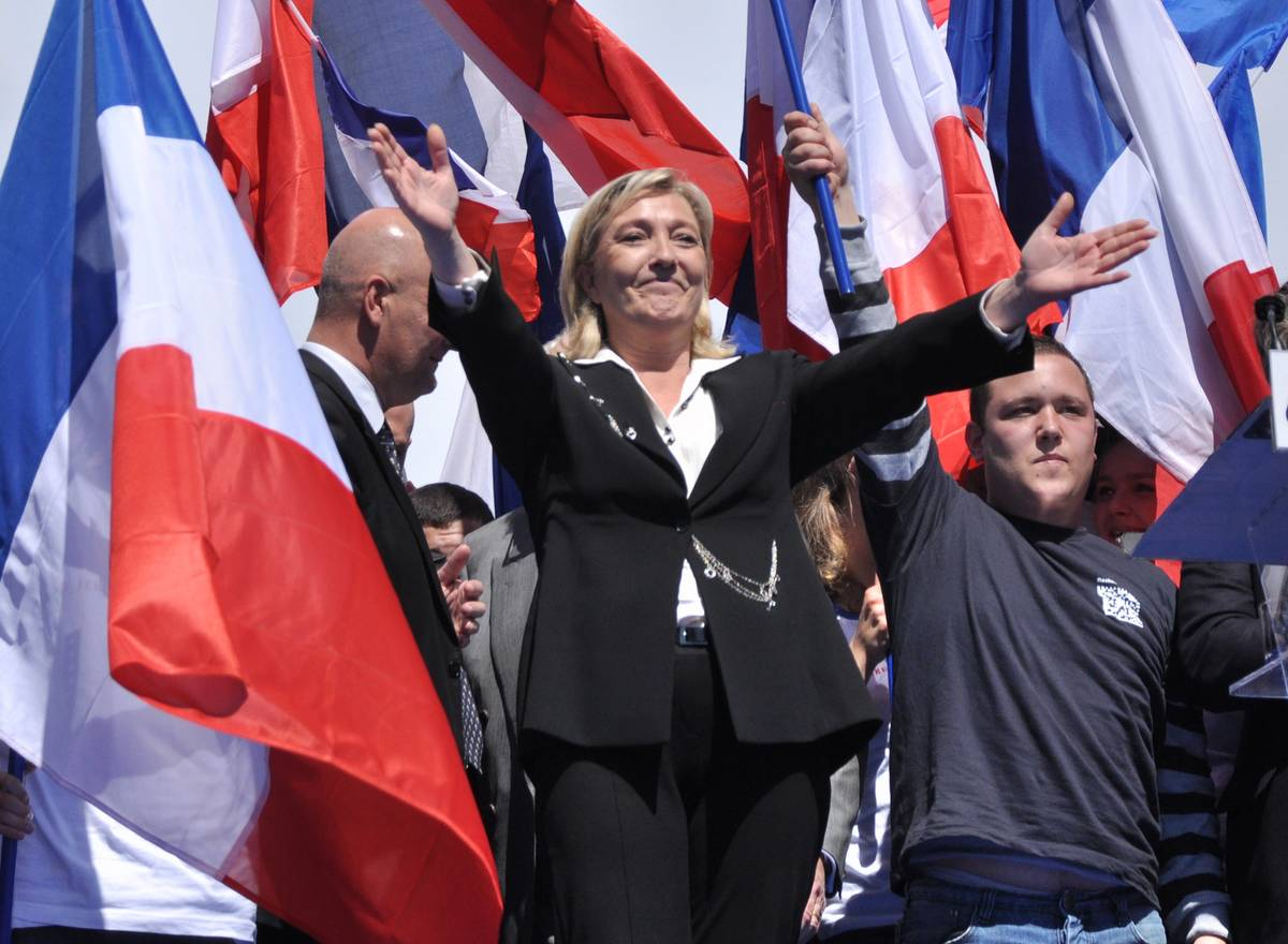 Marine Le Pen Front National union civile second tour