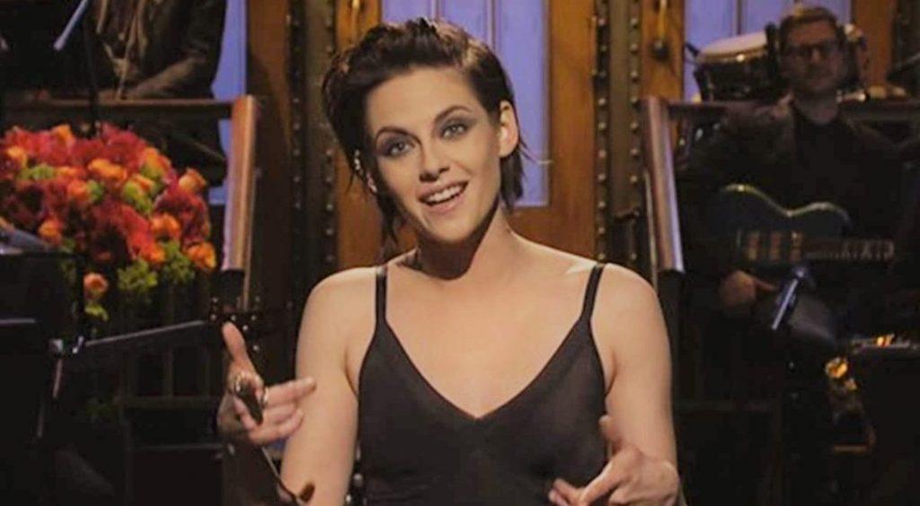 Kristen Stewart Donald Trump Saturday Night Live