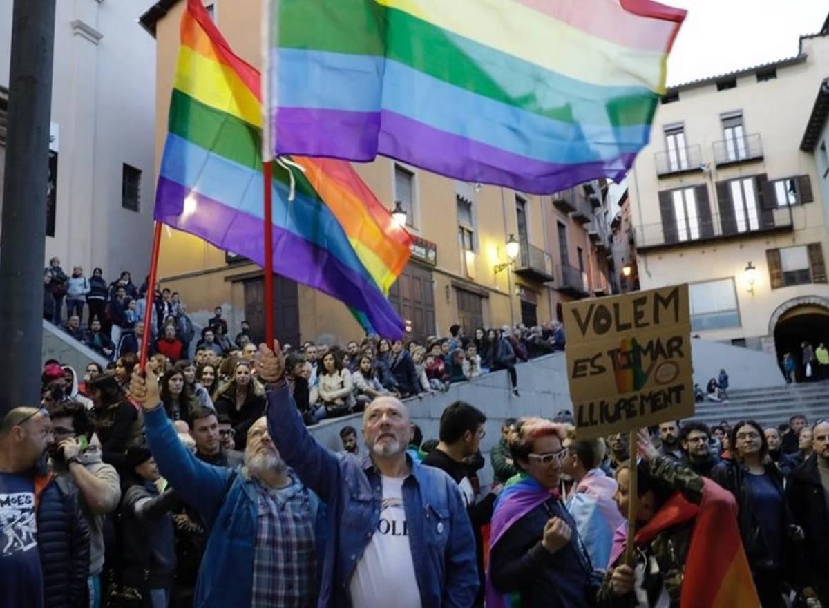 Berga agression homophobe