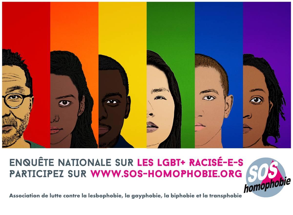 Quel est le quotidien des LGBT+ racisé.e.s en France ?