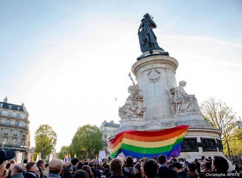 Paris et Bruxelles rassemblements purge anti-gay en Tchétchénie
