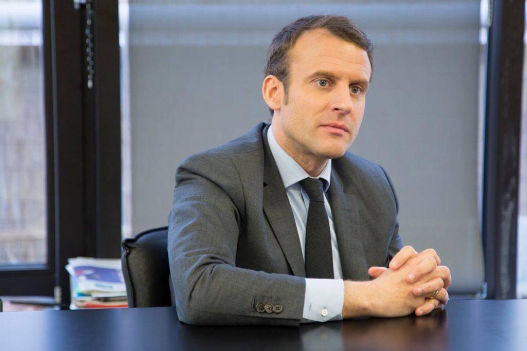 Emmanuel Macron élection présidentielles