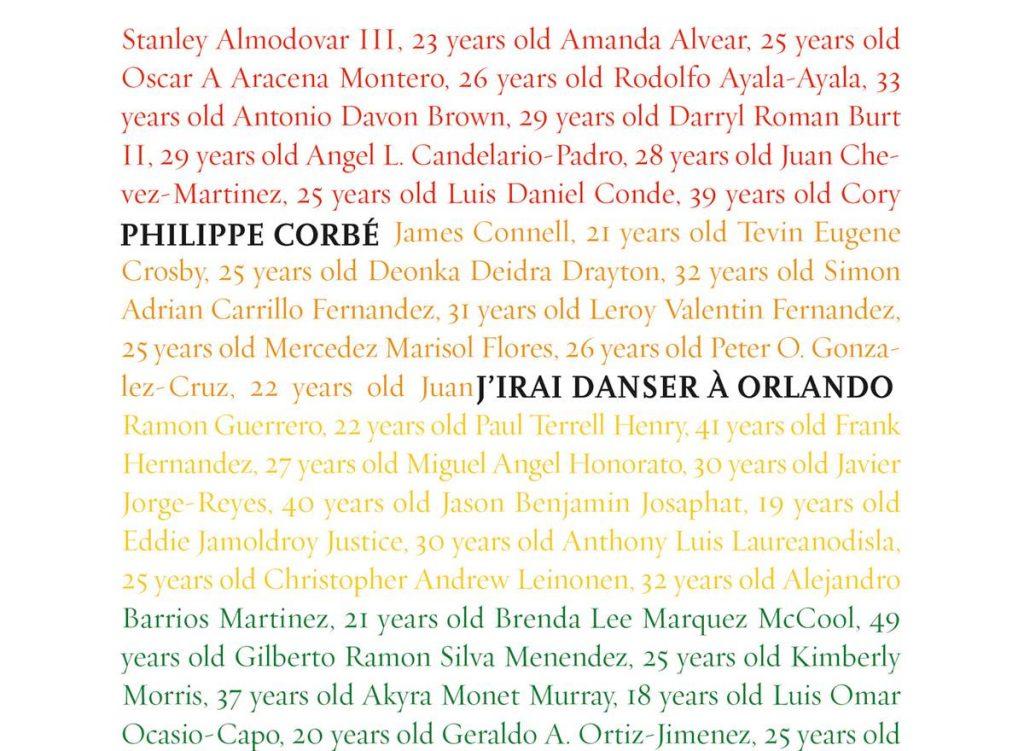 J'irai danser à Orlando Philippe Corbé Orlando