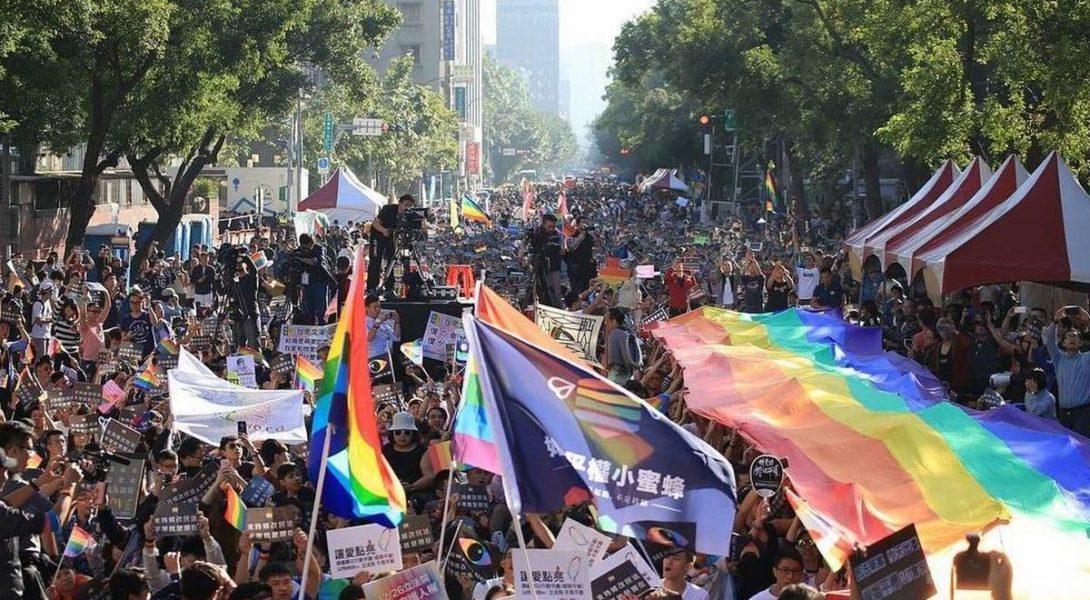 Taiwan premier pays d'Asie Mariage pour tous